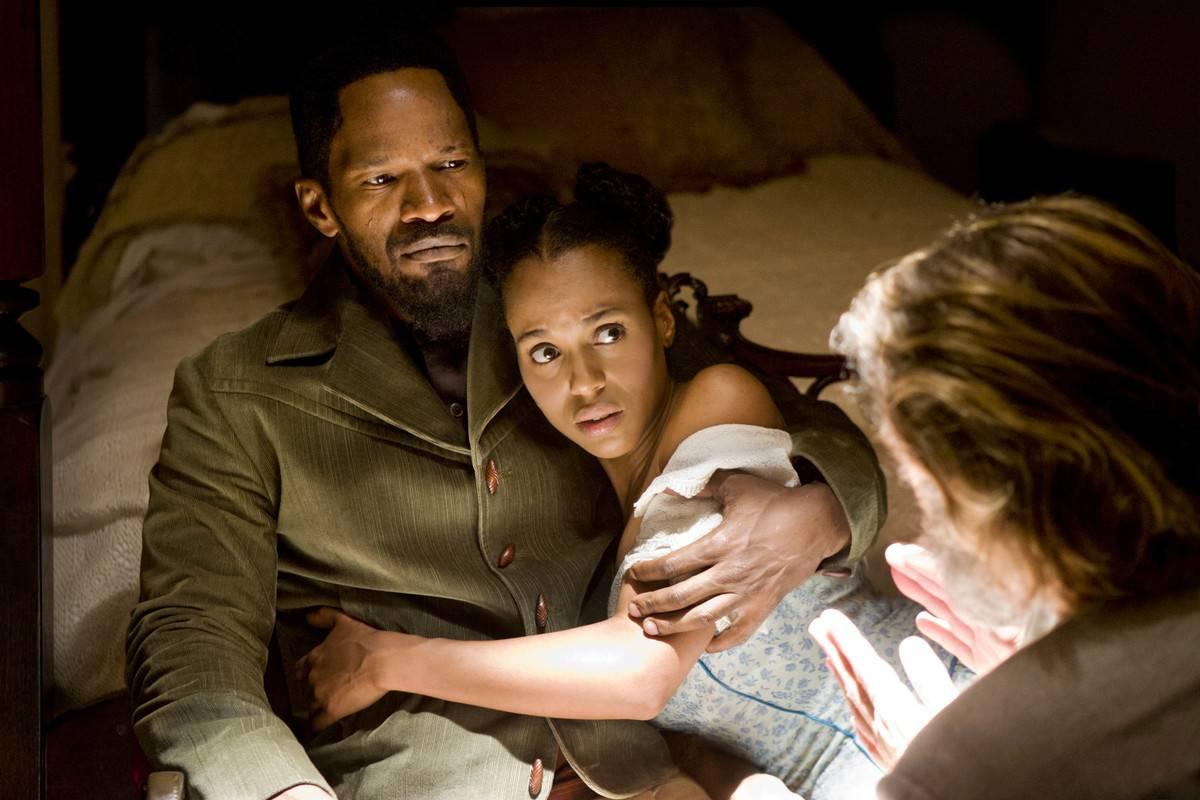 Scene from Django Unchained