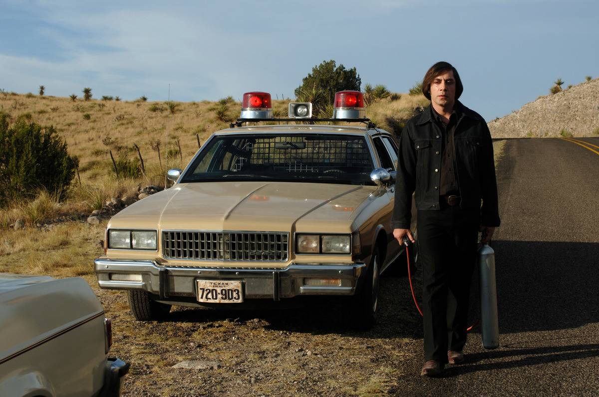 Havier Bardem in No Country For Old Men