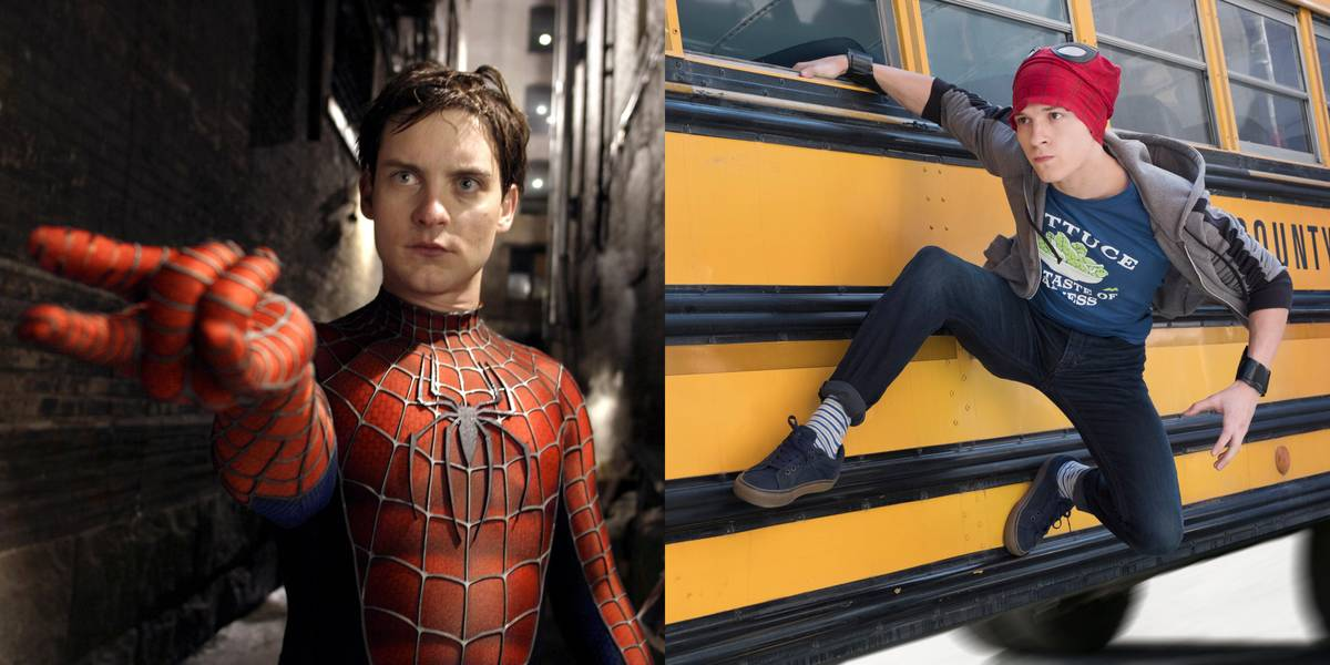 Tobey Maguire And Tom Holland -- Peter Parker/Spider-Man