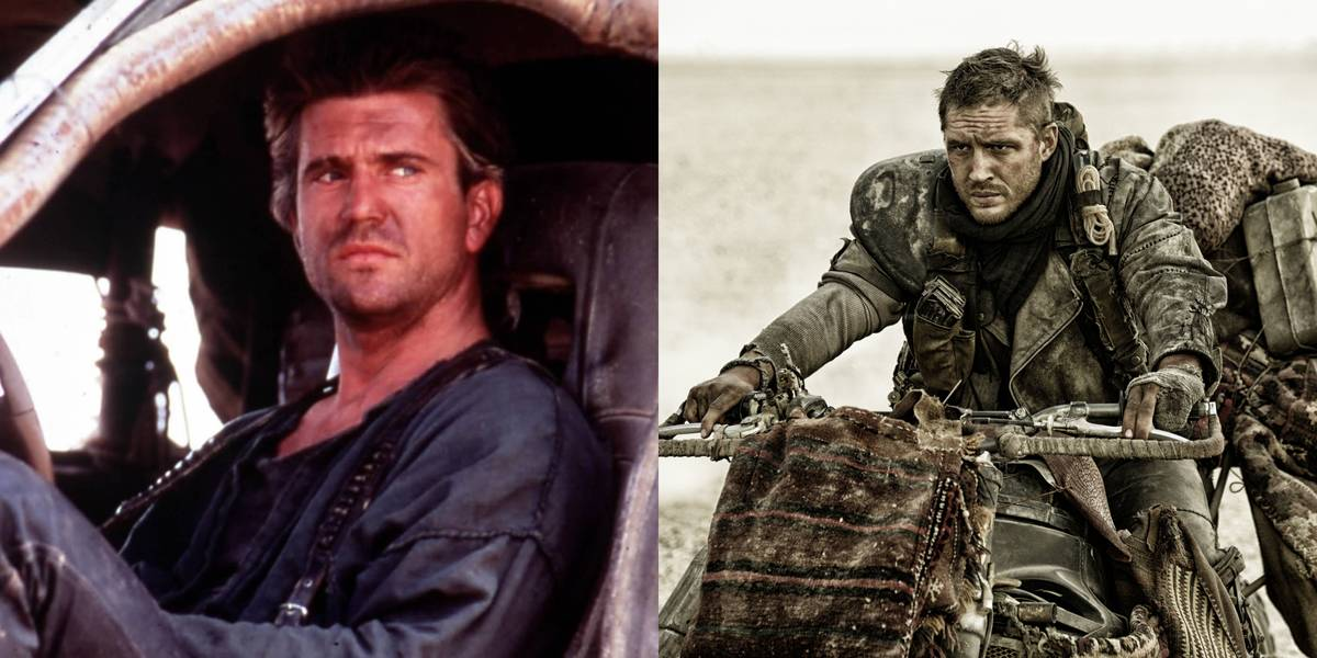 Mel Gibson And Tom Hardy -- Mad Max