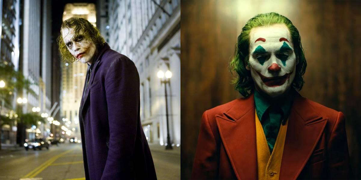 Heath Ledger And Joaquin Phoenix -- Joker