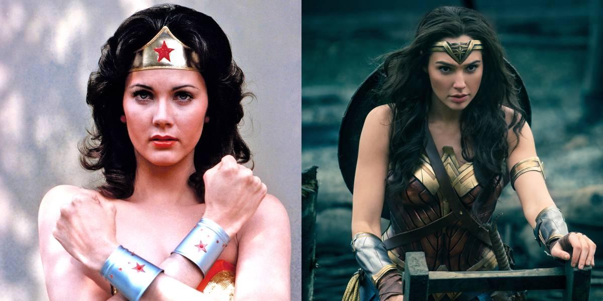 Lynda Carter And Gal Gadot -- Wonder Woman
