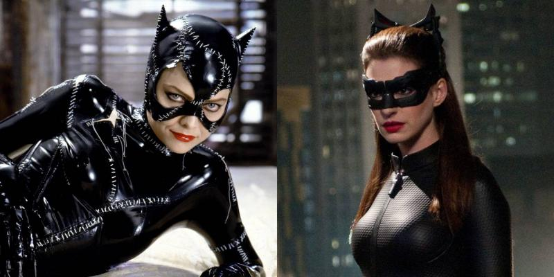 Michelle Pfeiffer Vs. Anne Hathaway -- Catwoman