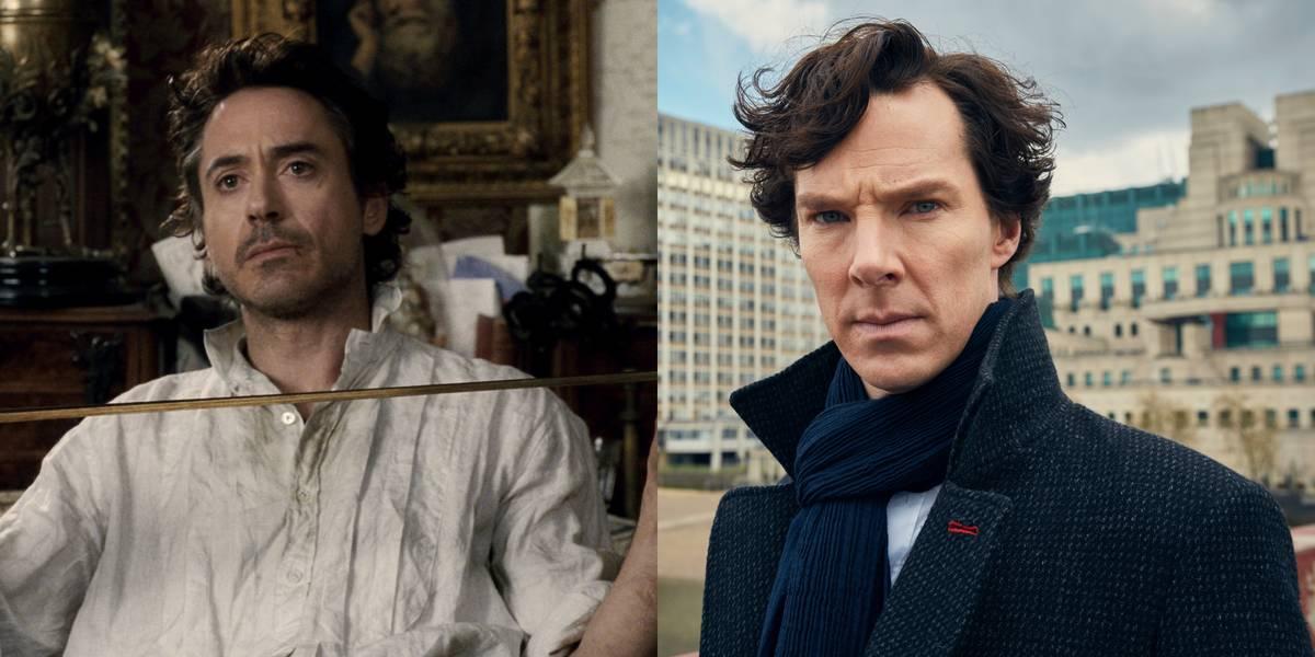 Robert Downey Jr. Vs. Benedict Cumberbatch -- Sherlock Holmes