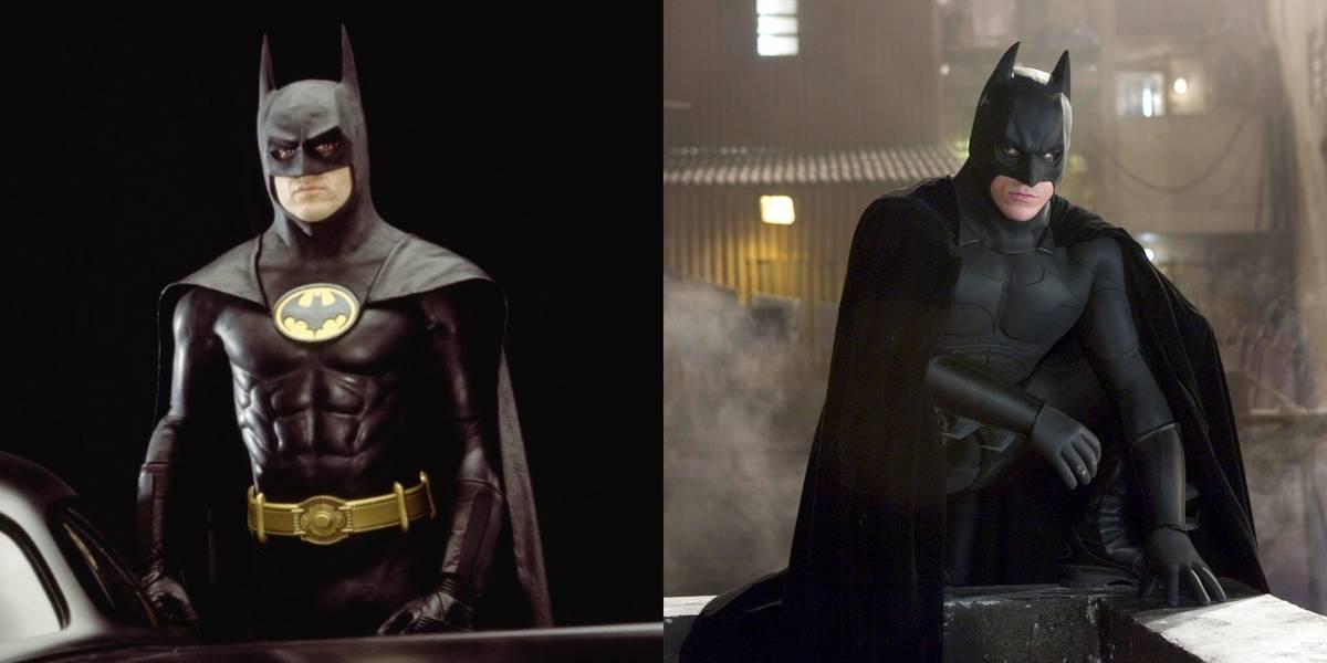 Michael Keaton Vs. Christian Bale -- Bruce Wayne/Batman