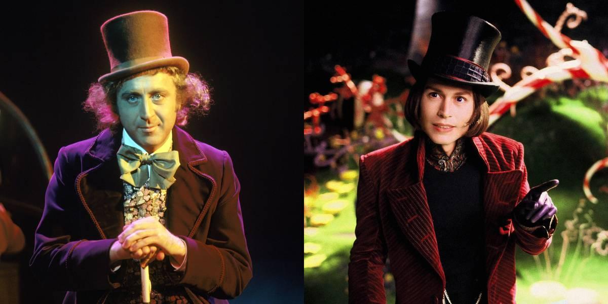 Gene Wilder Vs. Johnny Depp -- Willy Wonka