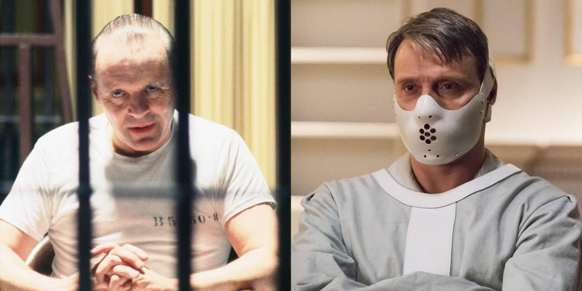 Anthony Hopkins Vs. Mads Mikkelsen -- Hannibal Lecter