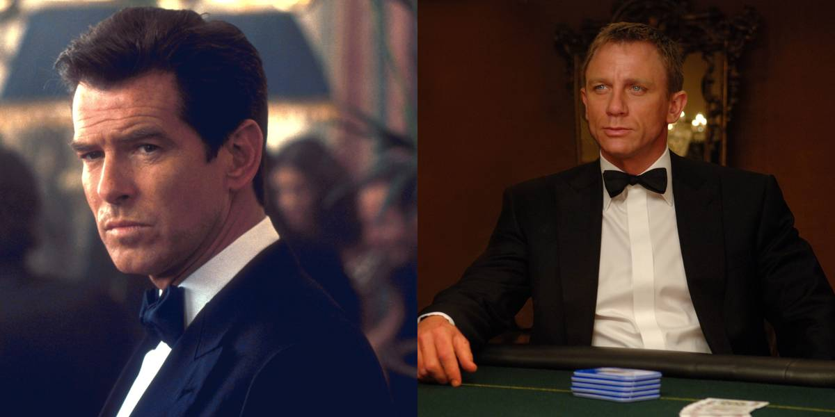 Pierce Brosnan Vs. Daniel Craig -- James Bond