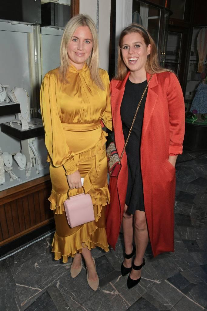 Marissa Montgomery and Princess Beatrice of York attend the Burlington Arcade 200th anniversary dinner