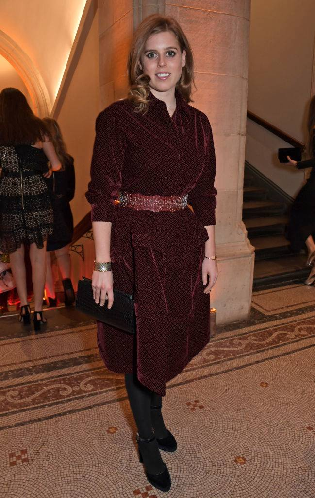 Princess Beatrice of York attends The Portrait Gala 2019