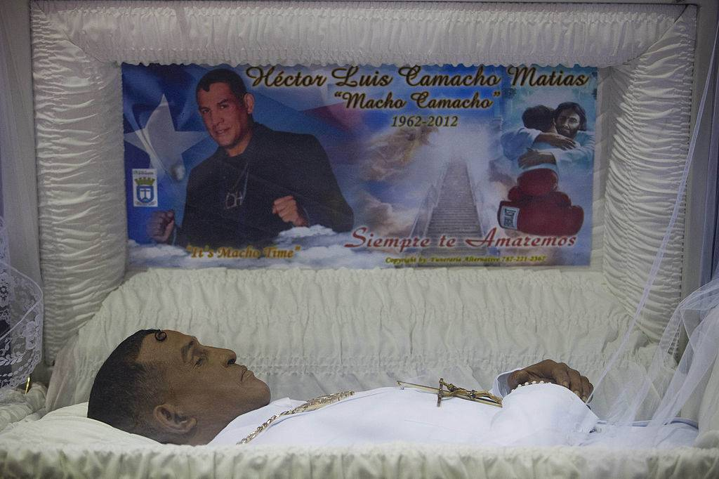 Camacho funeral