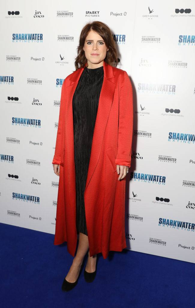 Princess Eugenie of York attends the Charity Premiere of