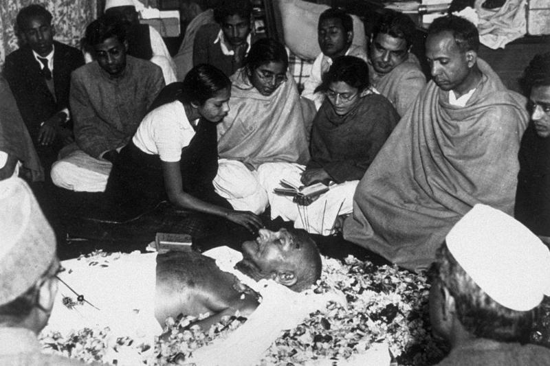 Gandhi funeral