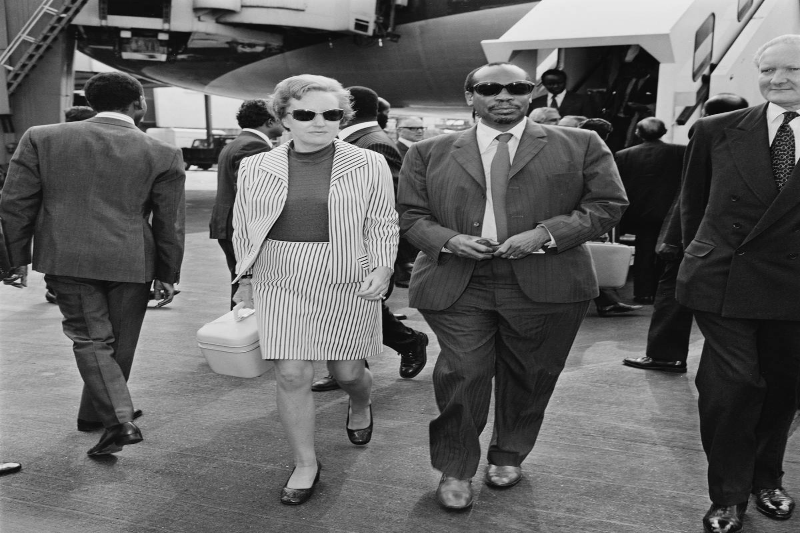 Sir Seretse Khama And Ruth Williams