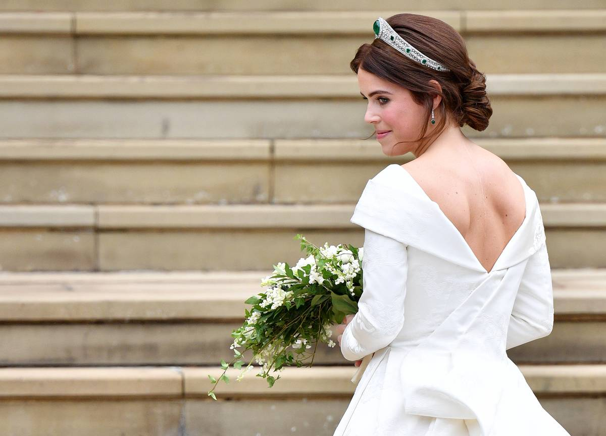 Princess Eugenie's Wedding Dress Was Full Of Meaning