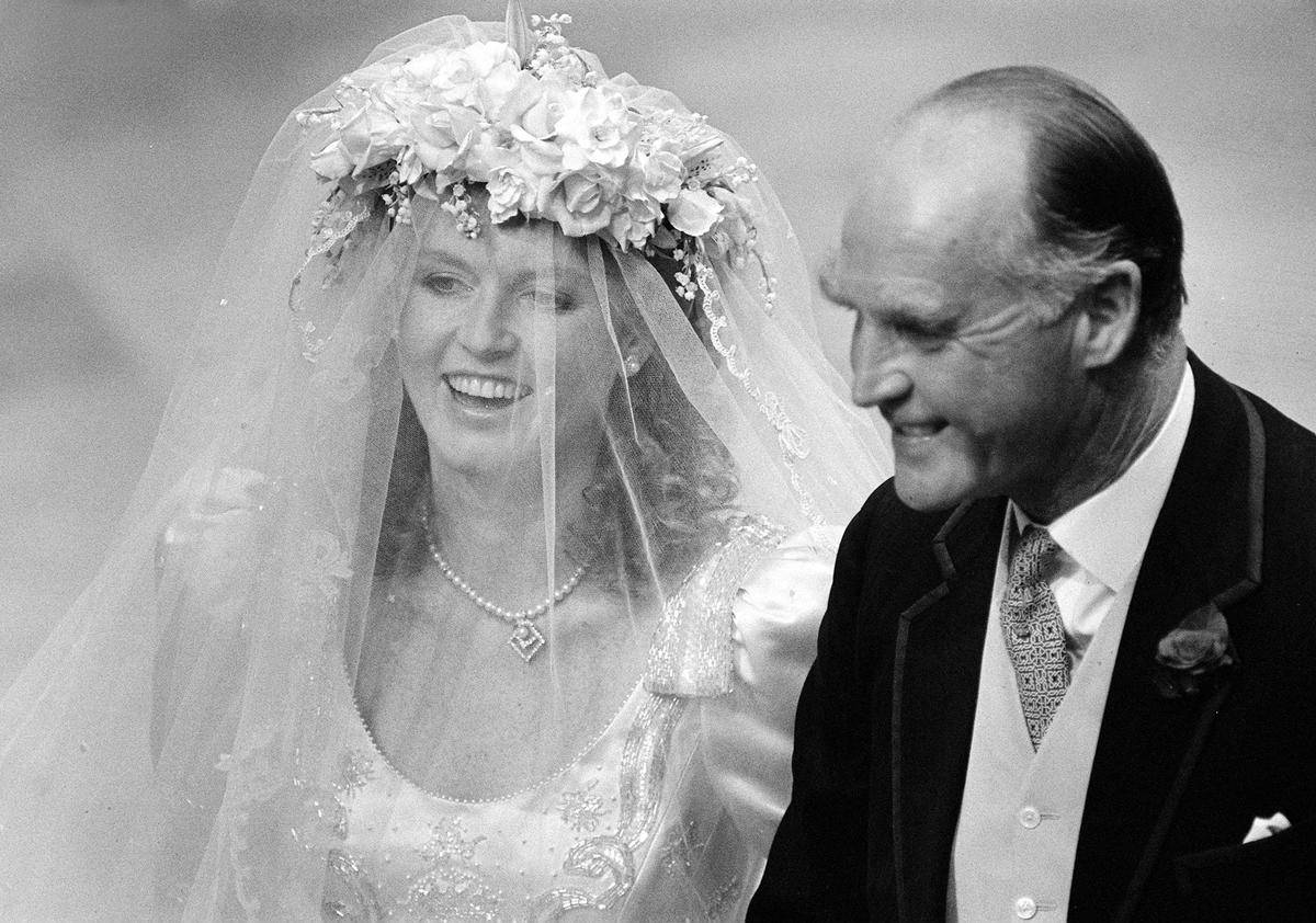 Sarah Ferguson's Wedding Headwear Symbolized Her Transition