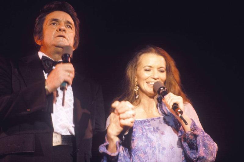 Johnny Cash und June Carter 1980