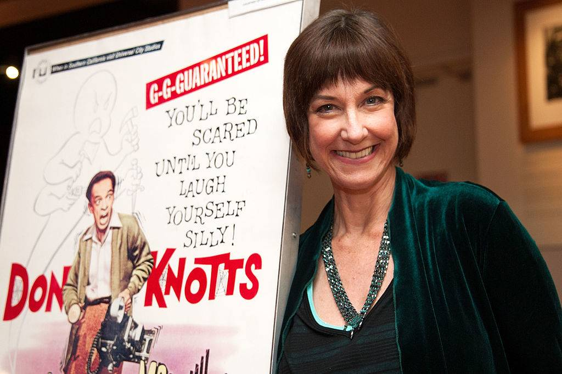 Actress Karen Knotts