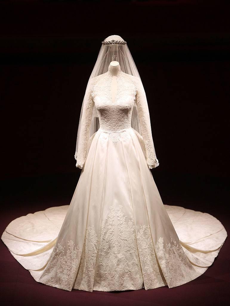 Kate dress on display