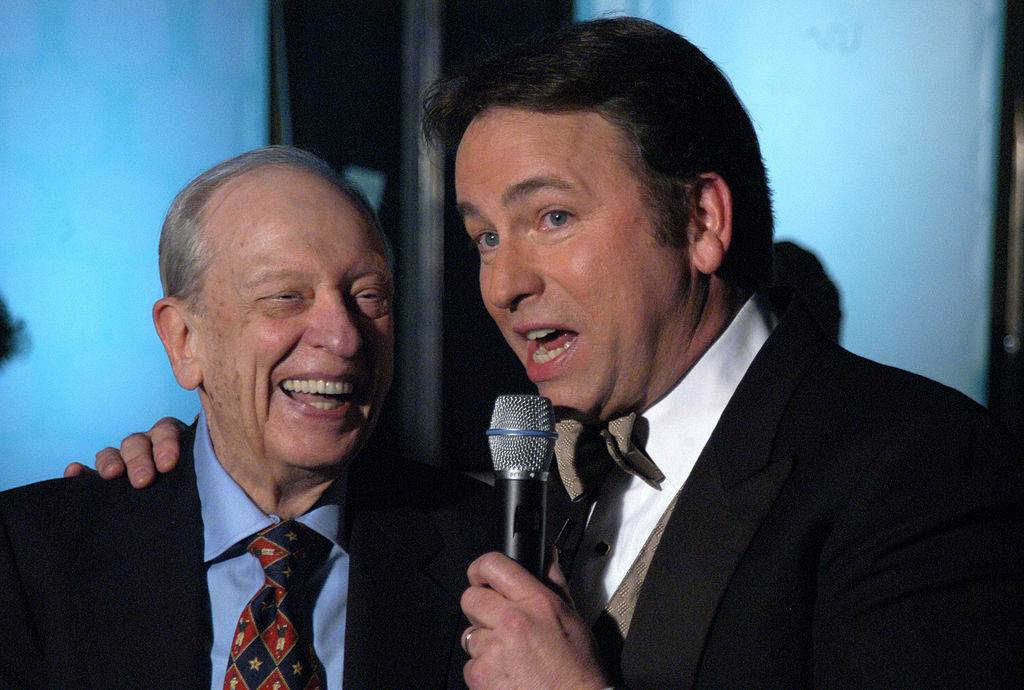 Don Knotts and John Ritter during The TV Land Awards