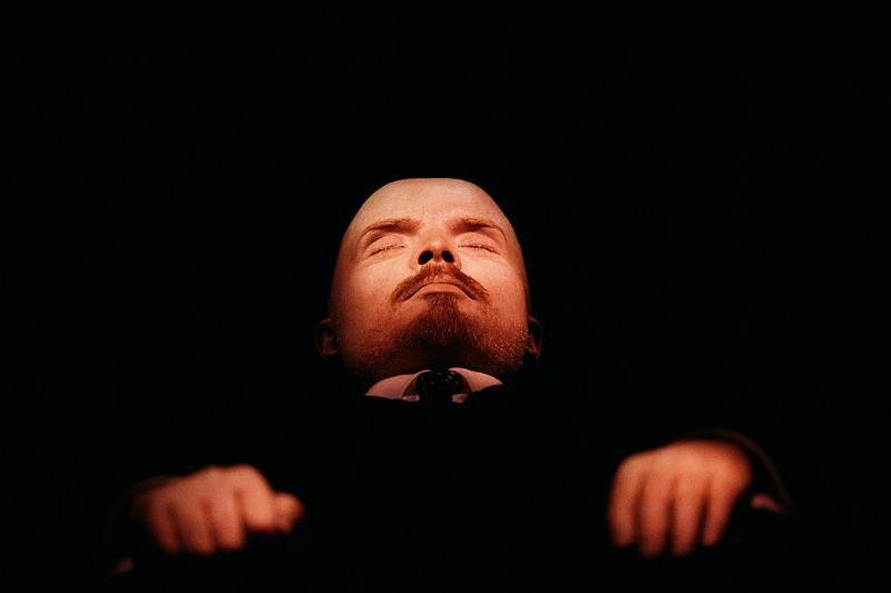 Embalmed Body of Lenin at Red Square
