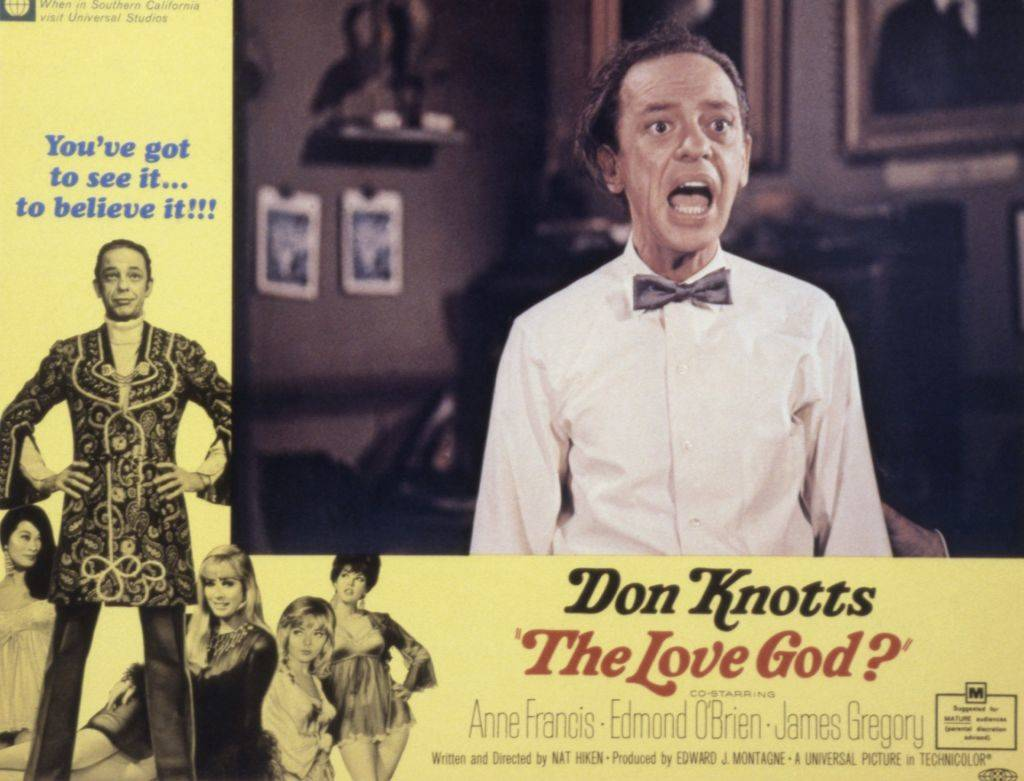 The Love God?, poster, Don Knotts, 1969