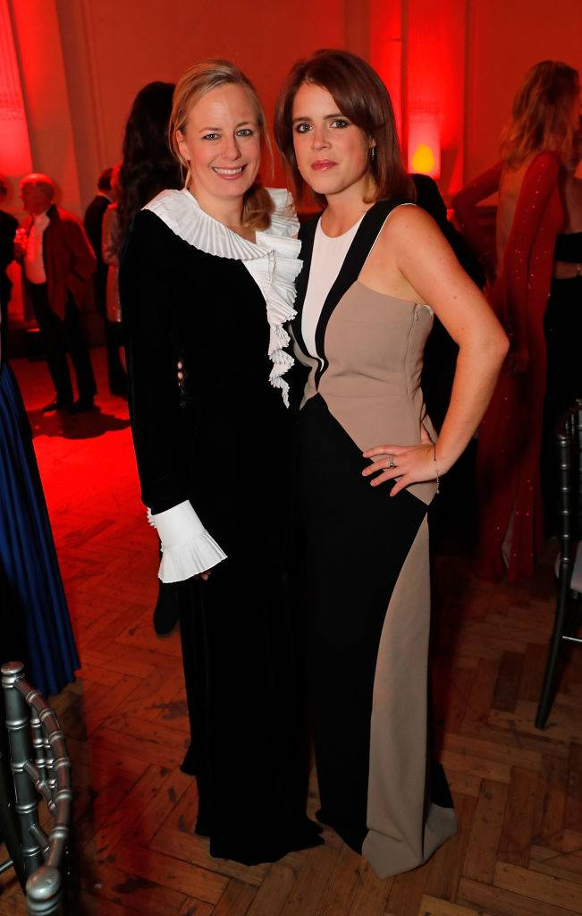 Astrid Harbord and Princess Eugenie attend The Charge II boxing fundraiser