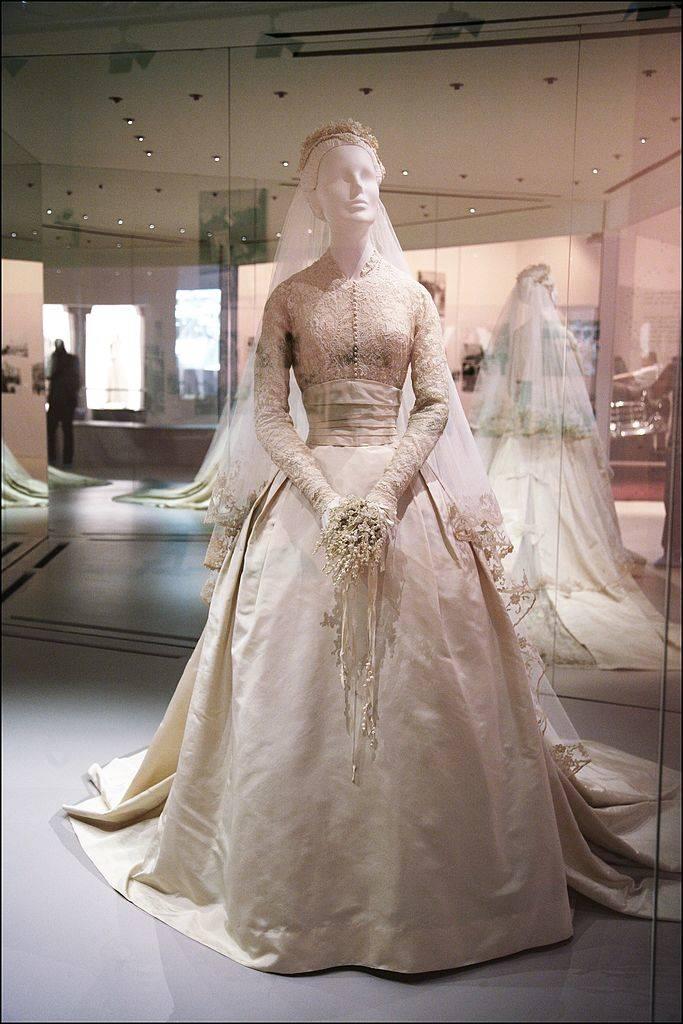Wedding dress of Grace Kelly, in Monaco