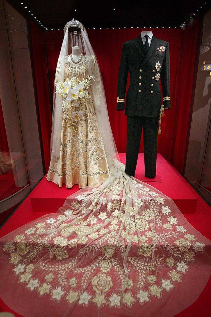 Princess Elizabeth's wedding dress