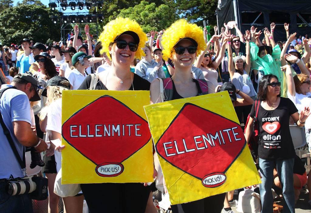 Picture of Ellen fans