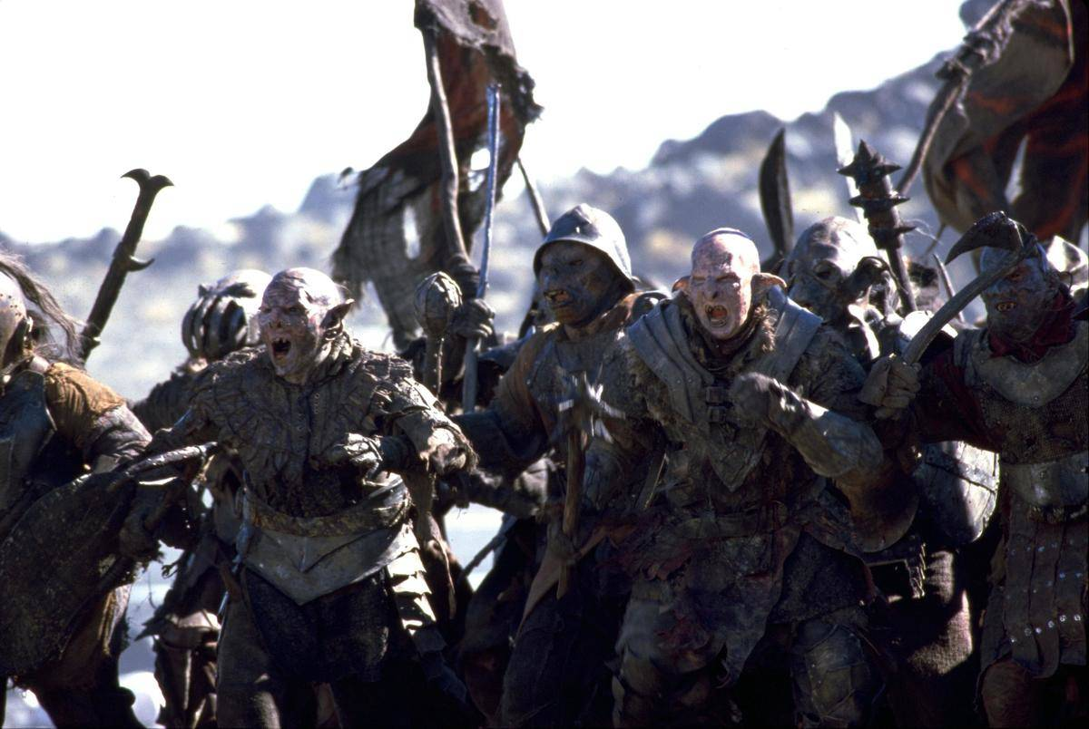 The Orcs In The Lord Of The Rings Wore Full-Body Makeup