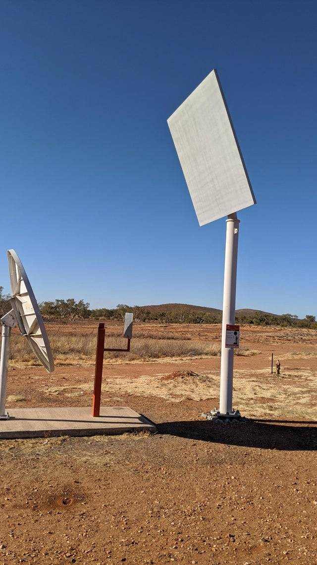 machine to get a stronger phone signal int he outback