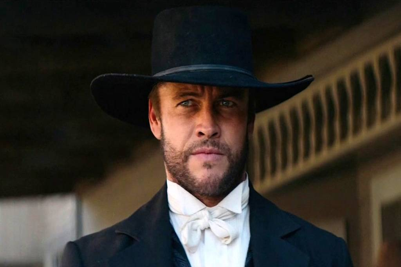 Hemsworth as Hickok