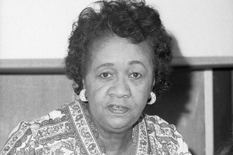 Journalist Dorothy Height