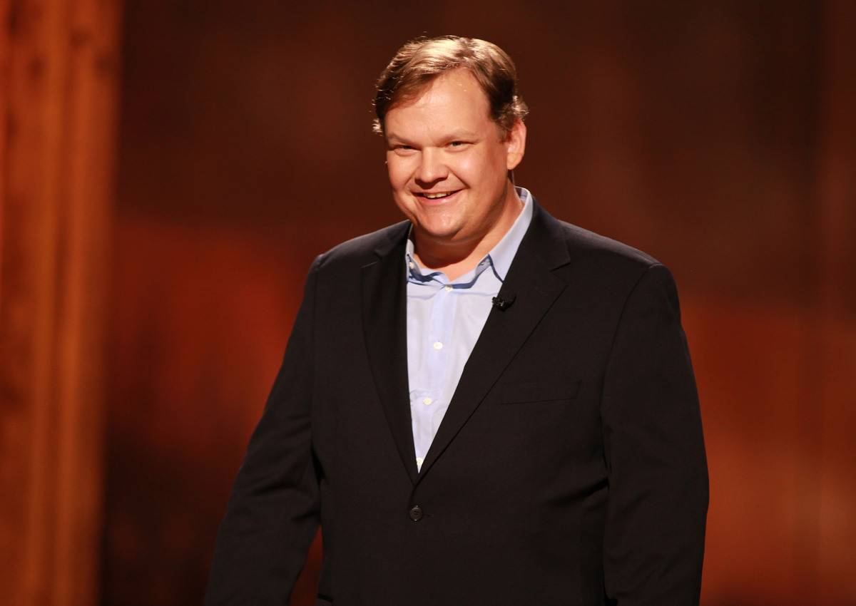 Andy Richter Was Conan O'Brien's Sidekick For Seven Years