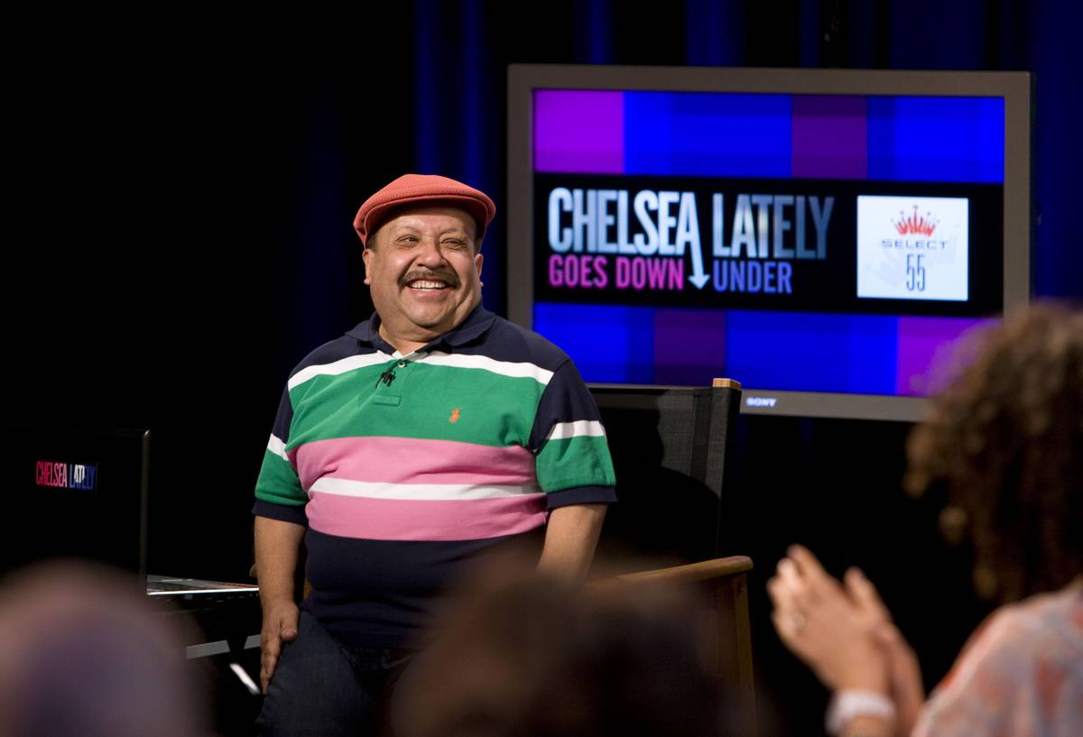 Chuy Bravo Joked Around With Chelsea Handler