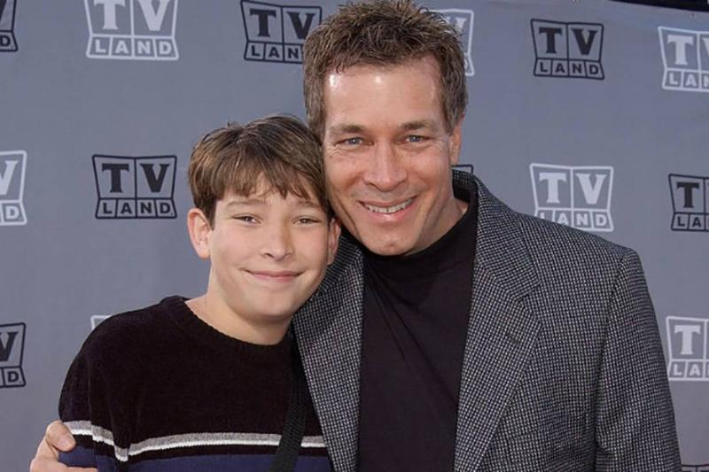 Don Grady and his son