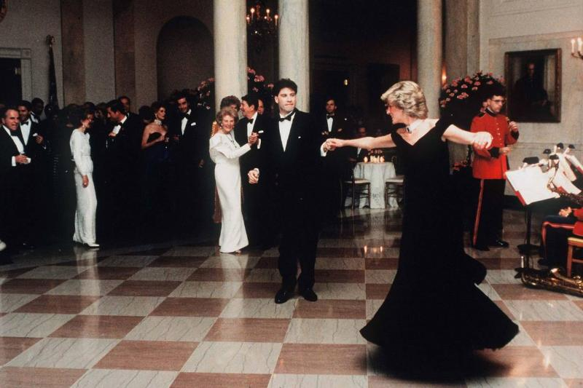 John Travolta Showed Princess Diana A Thing Or Two