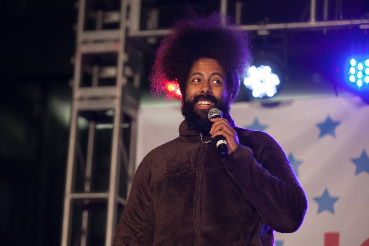 Reggie Watts Says He's A Mix Between Richter And Shaffer