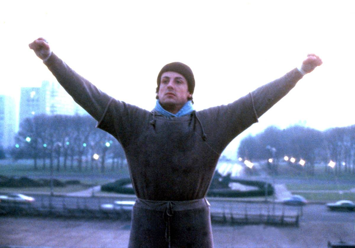 The Training Montage In Rocky