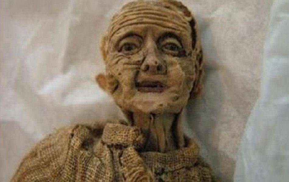 aging doll
