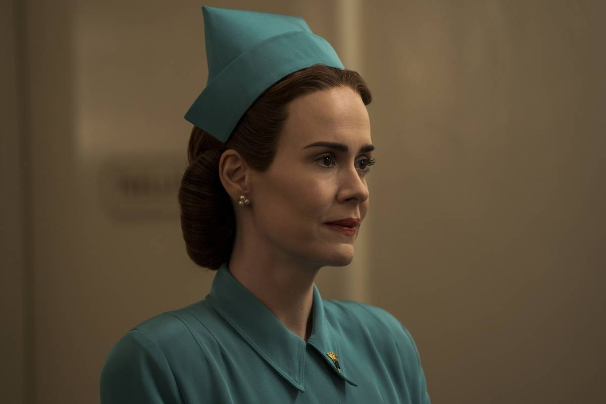 sarah paulson as nurse ratched in ratched