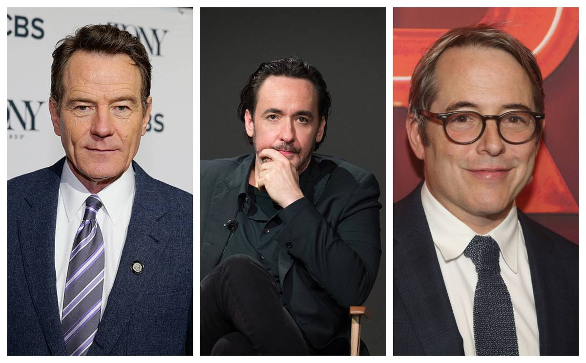 Cranston, Cusack, and Broderick
