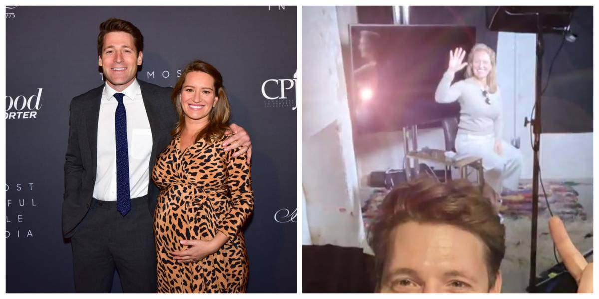 Pictures of Tony Dokoupil And Katy Tur
