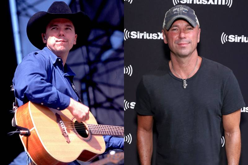 kenny chesney young and old photos