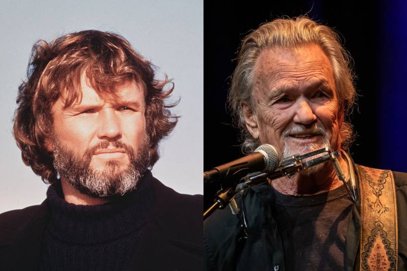 kris kristofferson young and old photos