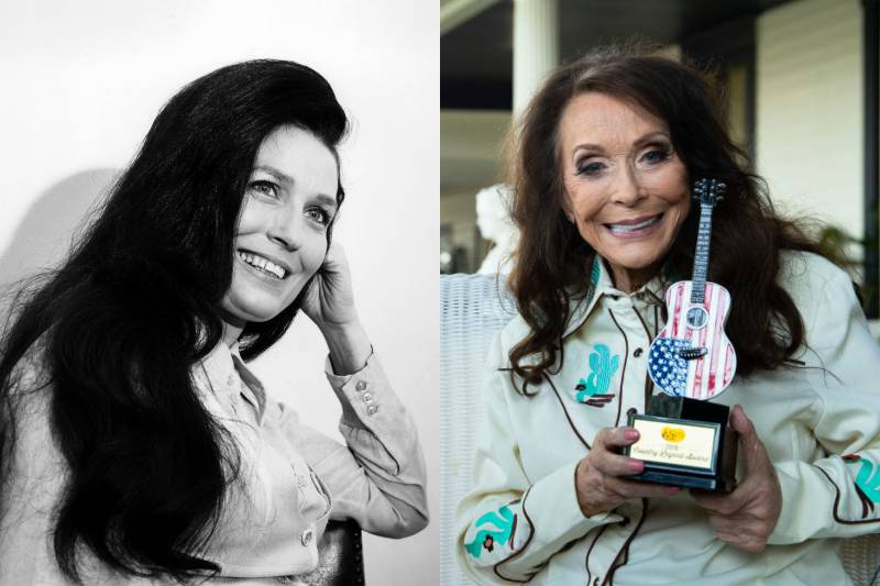 loretta lynn young and old photos