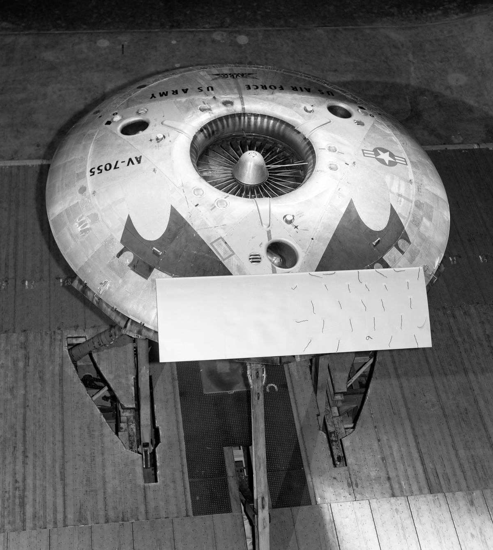 The Avro Canada VZ-9 Avrocar, a