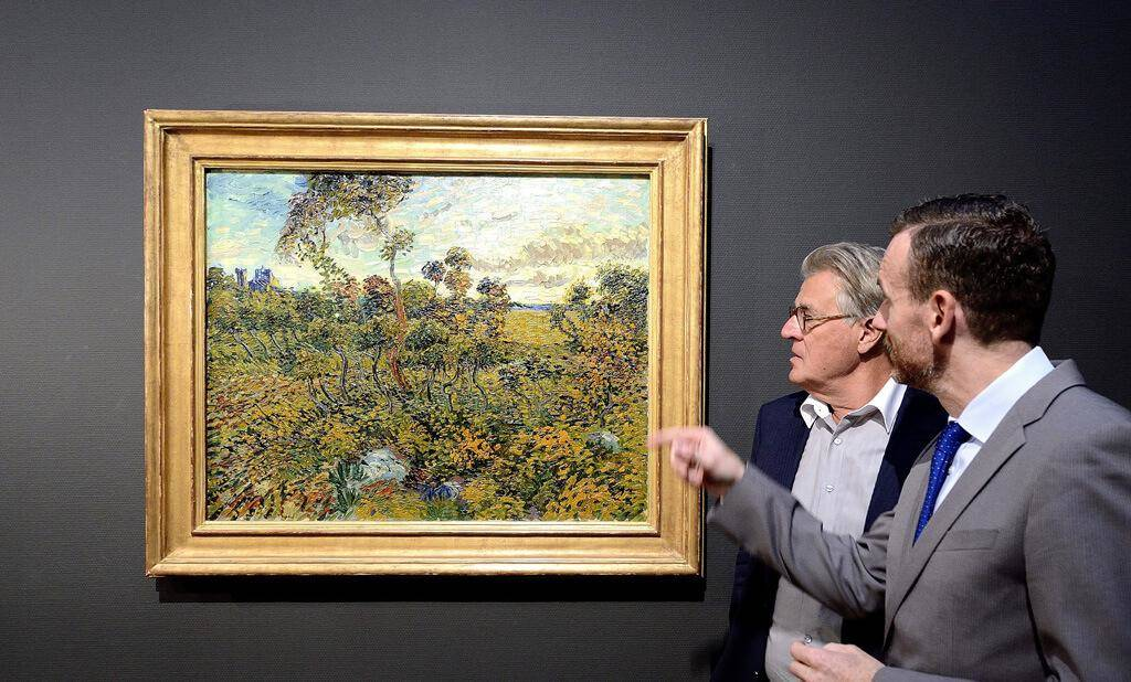 Unknown Van Gogh Painting Discovered In A Rich Man's Attic
