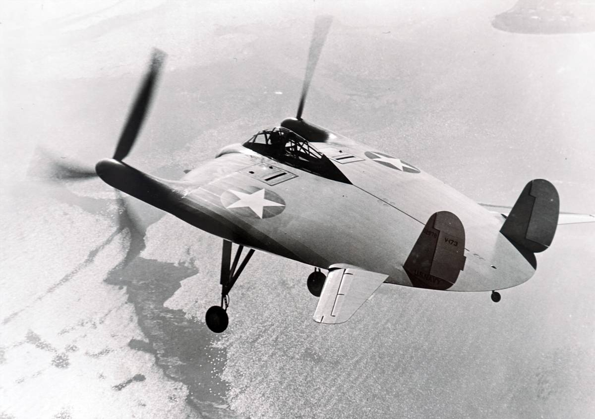 The Vought V-173, the